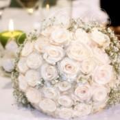bouquet rose vendela idecoration