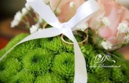 portafedi fiori freschi