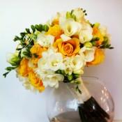bouquet fresie idecoration