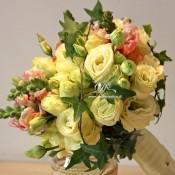 Bouquet lysianthus 2