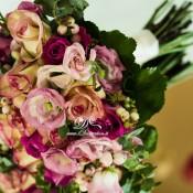 bouquet rose rosa idecoration