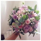 bouquet fiori lilla idecoration