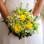 bouquet giallo iDecoration