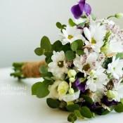 bouquet margherite e spighe