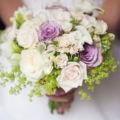 bouquet rose lilla idecoration
