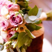 bouquet rose lilla