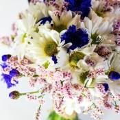 bouquet fiordaliso blu idecoration