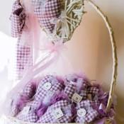 bomboniere cuori stoffa idecoration
